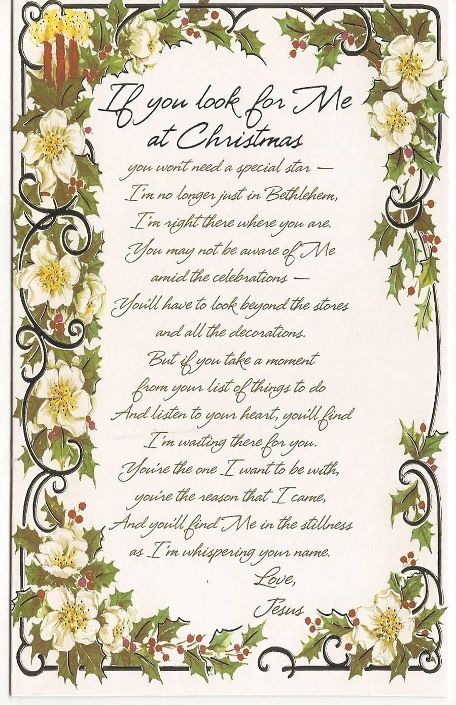 Jesus Christmas Card | Lighthouse Ministries